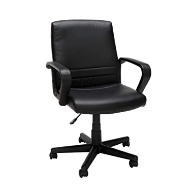 Essentials Mid-Back Executive Chair - Comfortable Conference and Computer Chair (E1008)