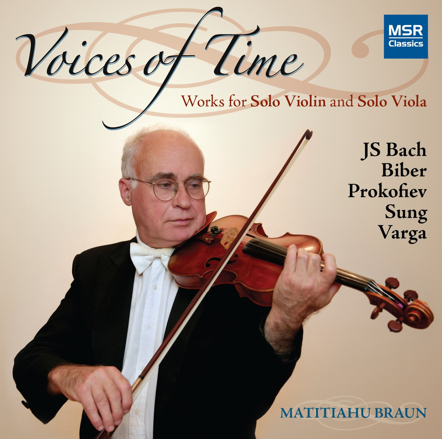 CD : Matitiahu Braun - Voices Of Time (2PC)