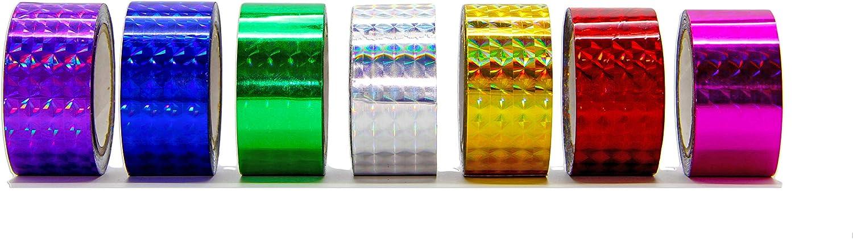 Decorating Adhesive Prism Laser Tape - 1 in. (1.0