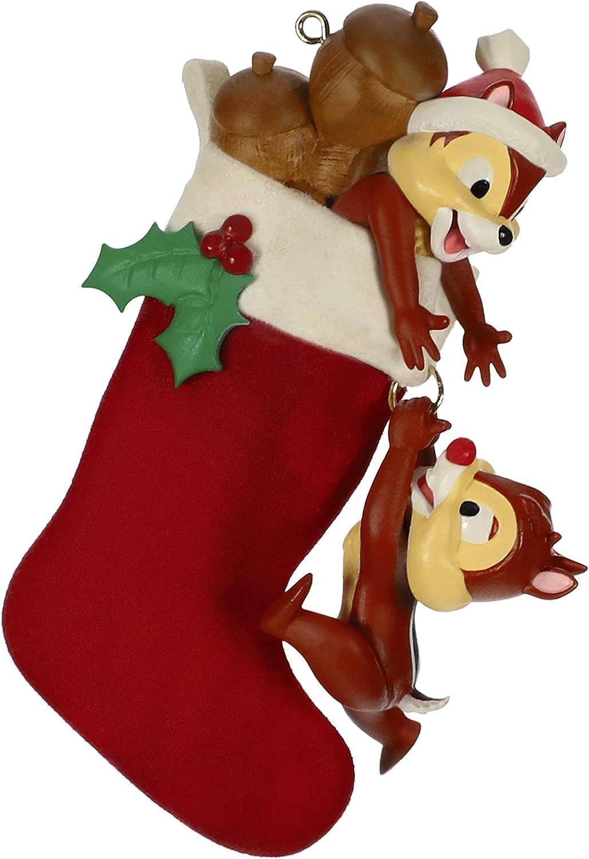 Keepsake Christmas Ornament Year Dated, Filled With Fun! Stocking 2021 Amazon Com Hallmark Keepsake Christmas Ornament 2019 Year Dated Disney Chip And Dale Stocking Stuffers Home Kitchen