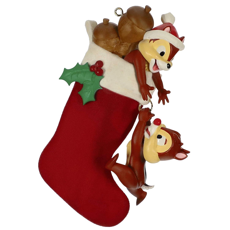 Hallmark Keepsake Christmas Ornament 2019 Year Dated Disney Chip and Dale Stocking Stuffers