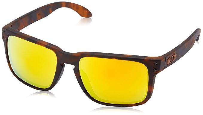 fb480a249faaf Amazon.com  Oakley Men s Holbrook OO9102-59 Rectangular Sunglasses ...