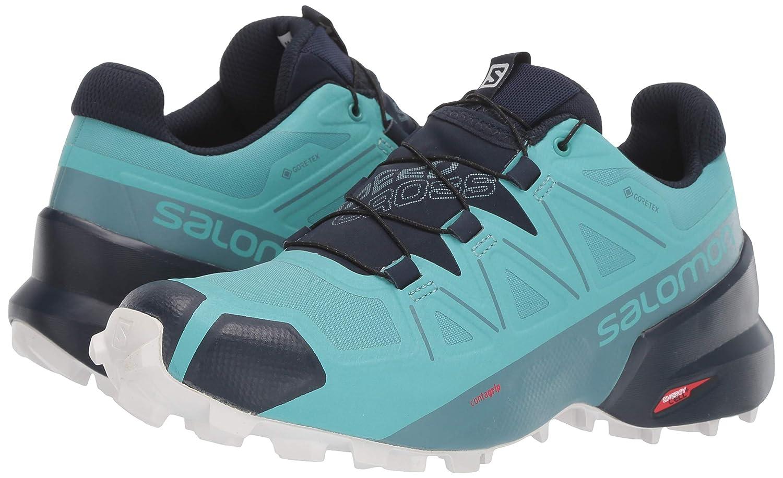 Salomon Scarpe Trail Running Speedcross 5 Gtx Azzurro Donna