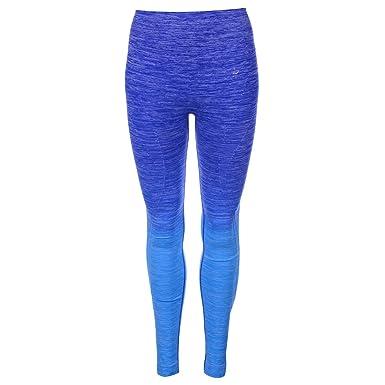 cfc15f3fed9b1a Everlast Damen Lang Jogginghose Fitness Hose Trainingshose Sporthose Tight  Blau 10 (S)