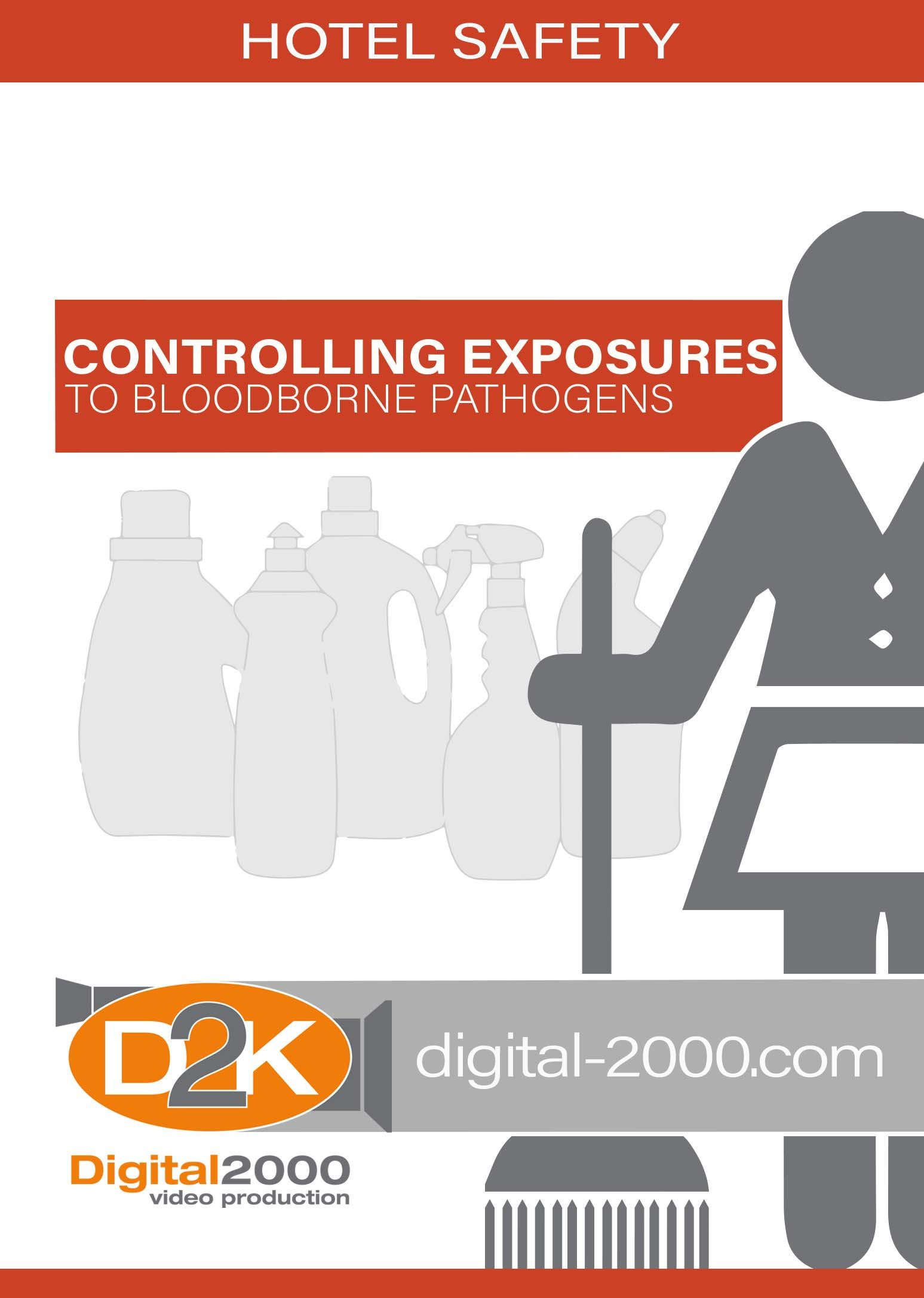 Controlling Exposures To Bloodborne Pathogens (Hotel/Motel) Safety Training DVD