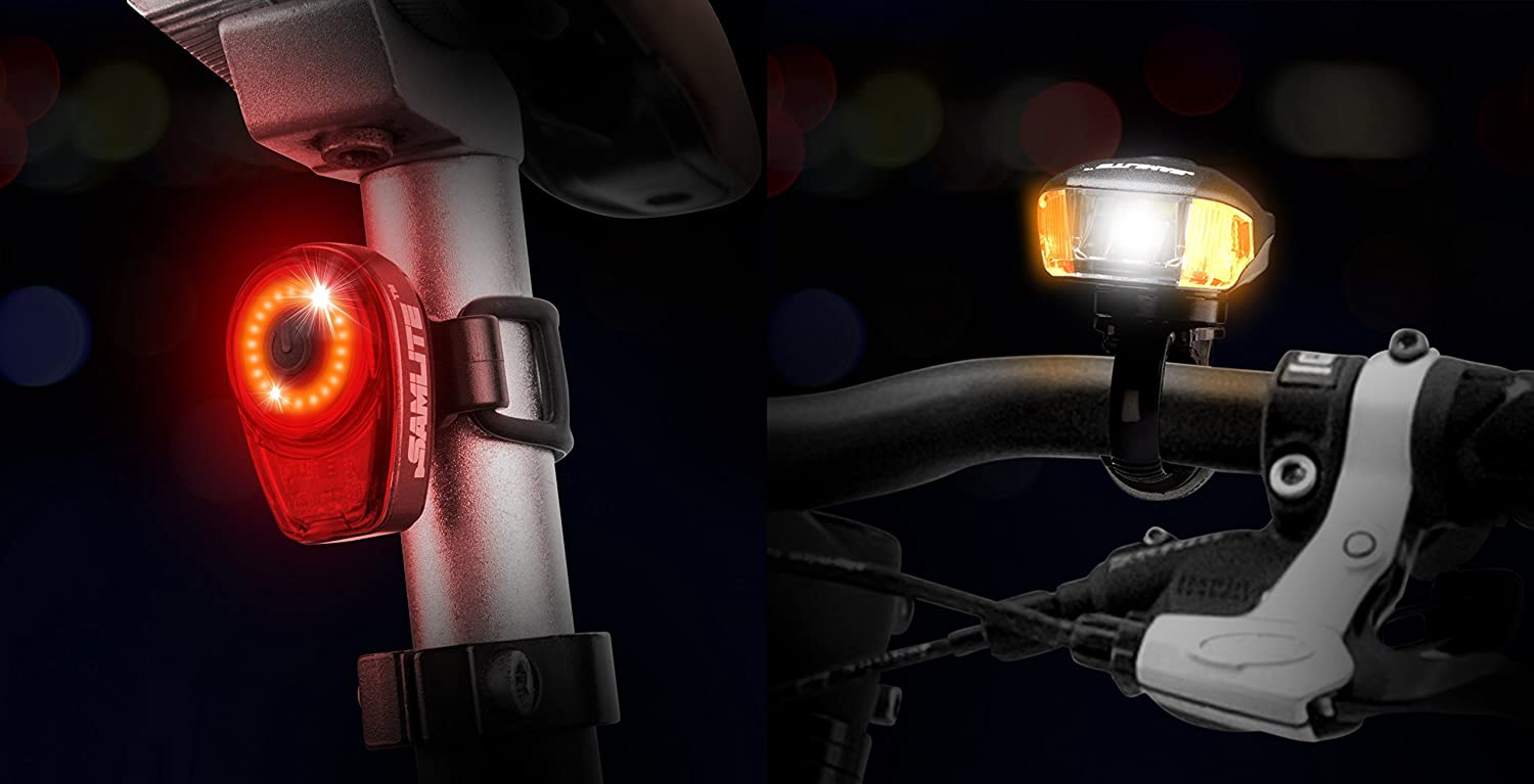 Cycling Computer XLC Bicycle Head /& Tail Light Set