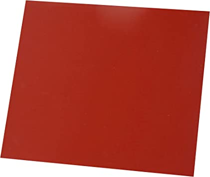 Amazon Com Flexible Heat Resistant Silicone Rubber Sheeting High Temp Smooth Finish Red 1 8 By 12 By 12 Inch Home Improvement