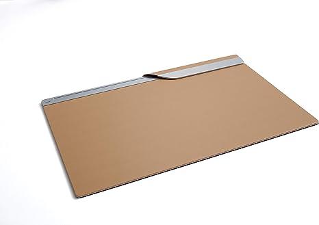 SIGEL SA402 Vade de escritorio, color cognac, piel sintética de ...