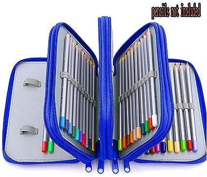 Xiaoyu 72 estuches prácticos porta-lápiz multi-capas con ...