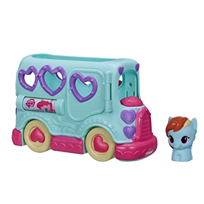 My Little Pony Rainbow Dash Friendship Bus: Toys & Games