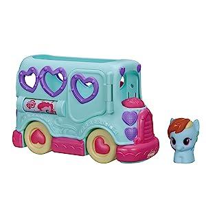 My Little Pony Rainbow Dash Friendship Bus