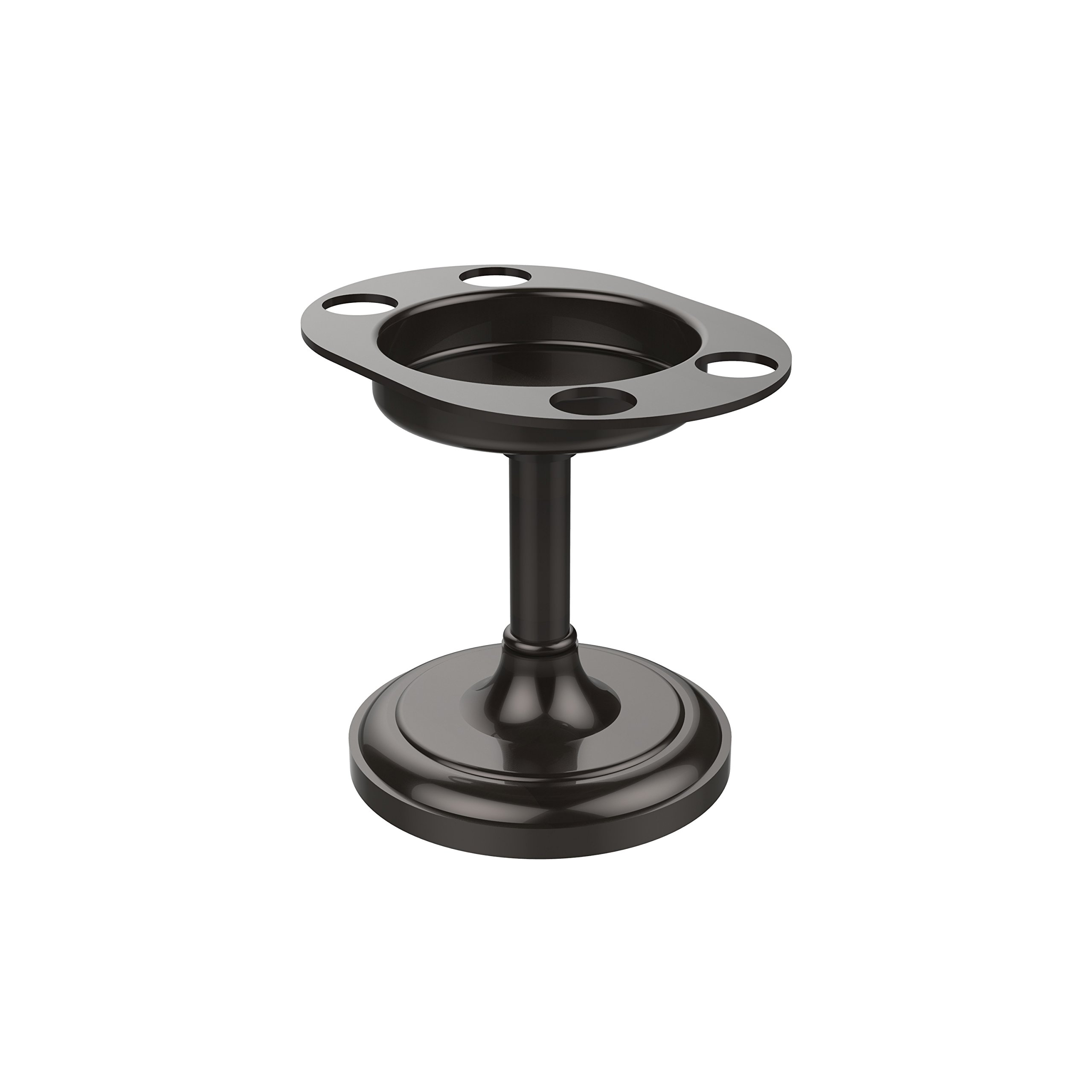 Allied Brass S-55-ORB Vanity Top Tumbler and Toothbrush Holder, Oil Rubbed Bronze