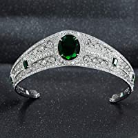 El Greville Emerald Kokoshnik réplica Tiara,princesa Eugenie boda Tiara HG086A