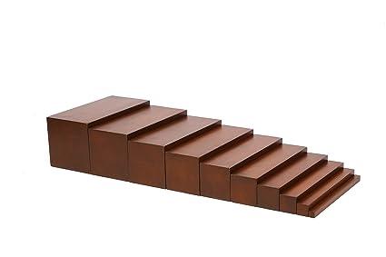 Edufun 91101 Montessori Braune Treppe: Amazon.es: Juguetes y juegos