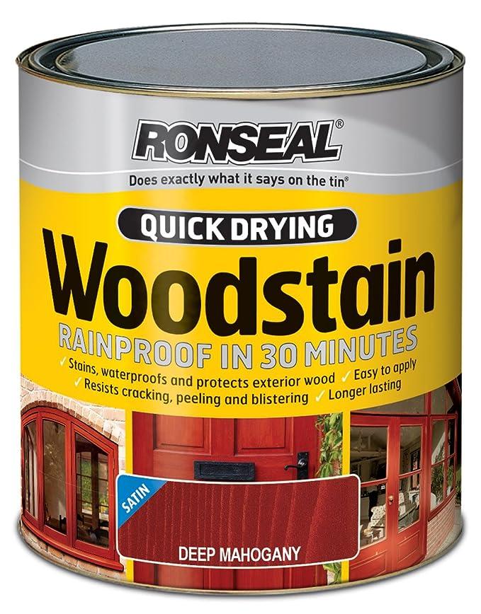 1 opinioni per Ronseal QDWSAP750mordente per legno ad asciugatura rapida, 750ml, colore: