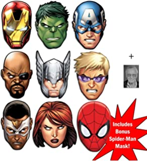 image about Captain America Mask Printable identified as Mask Pack - Marvels Ponder Avengers Age of Ultron Tremendous