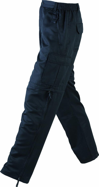 James /& Nicholson Mens Zip-Off Pantalones de Deporte Hombre