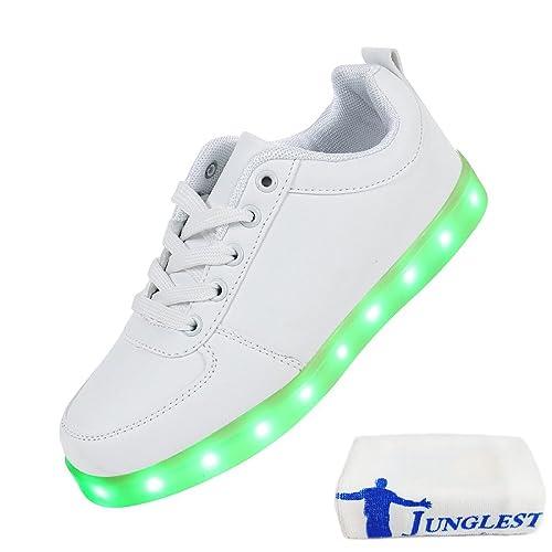 (Presente:peque?a toalla)c14 EU 37, Mujeres Zapatos c14 LED JUNGLEST? Light Hombres U