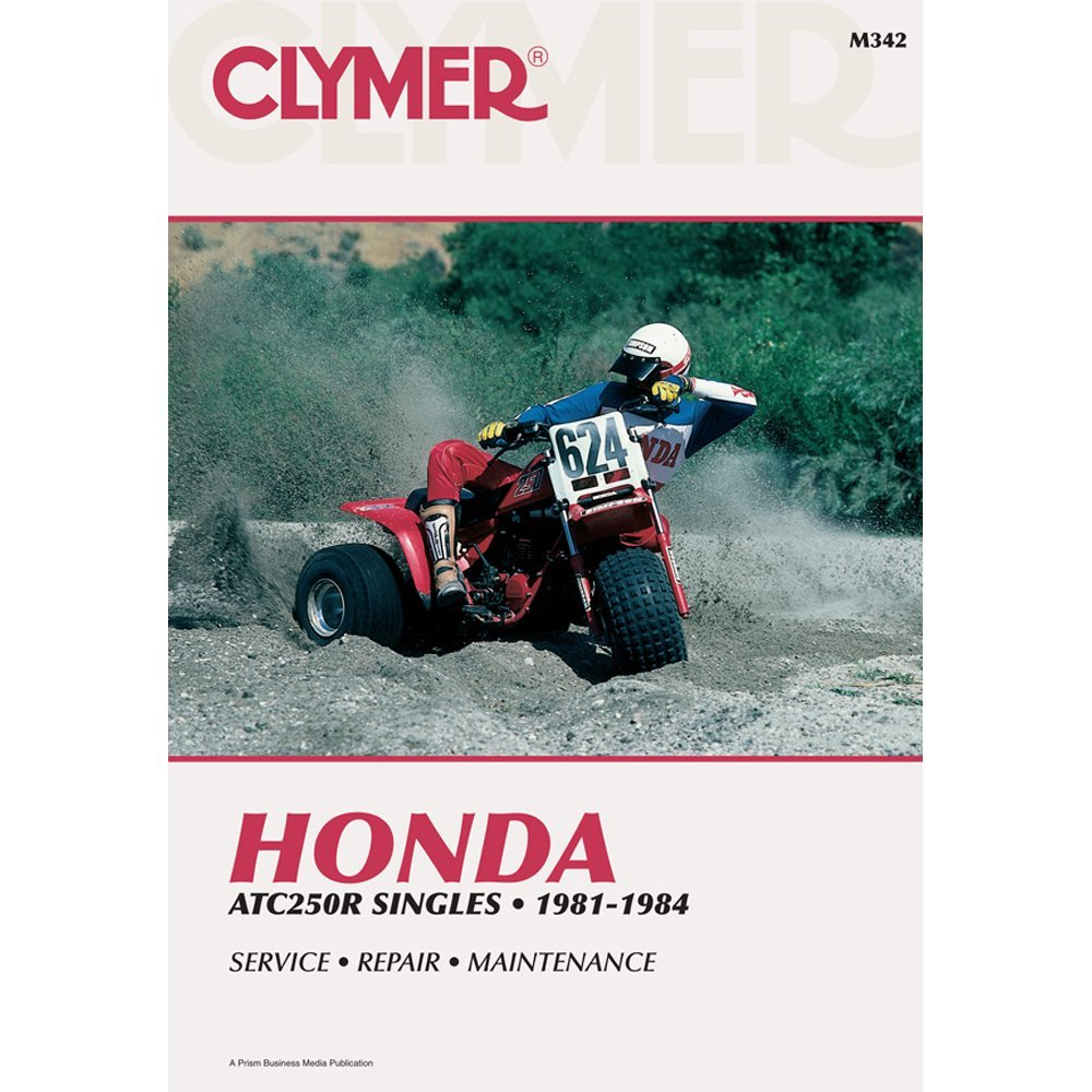 Amazon.com: 1981-1984 HONDA ATC250R SERVICE MANUAL/HONDA, Manufacturer:  CLYMER, Manufacturer Part Number: M342-AD, Stock Photo - Actual parts may  vary.
