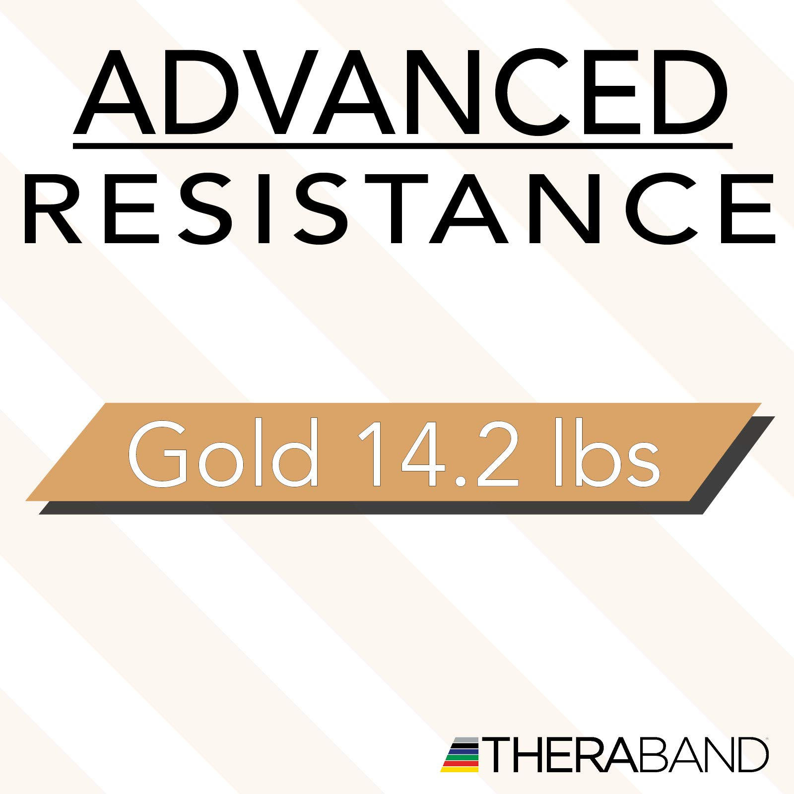 TheraBand Resistance Bands, 6 Yard Roll Professional Latex Elastic Band For Upper Body, Lower Body, & Core Exercise, Physical Therapy, Pilates, At-Home Workouts, & Rehab, Gold, Max, Elite by TheraBand (Image #10)
