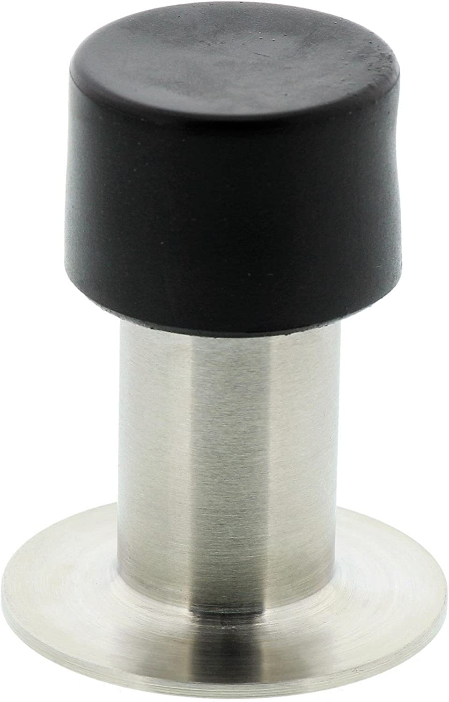 Burg-Wächter TSW 2365 Ni SB Tope de Puertas de Pared 65 mm, Gris, 65cm