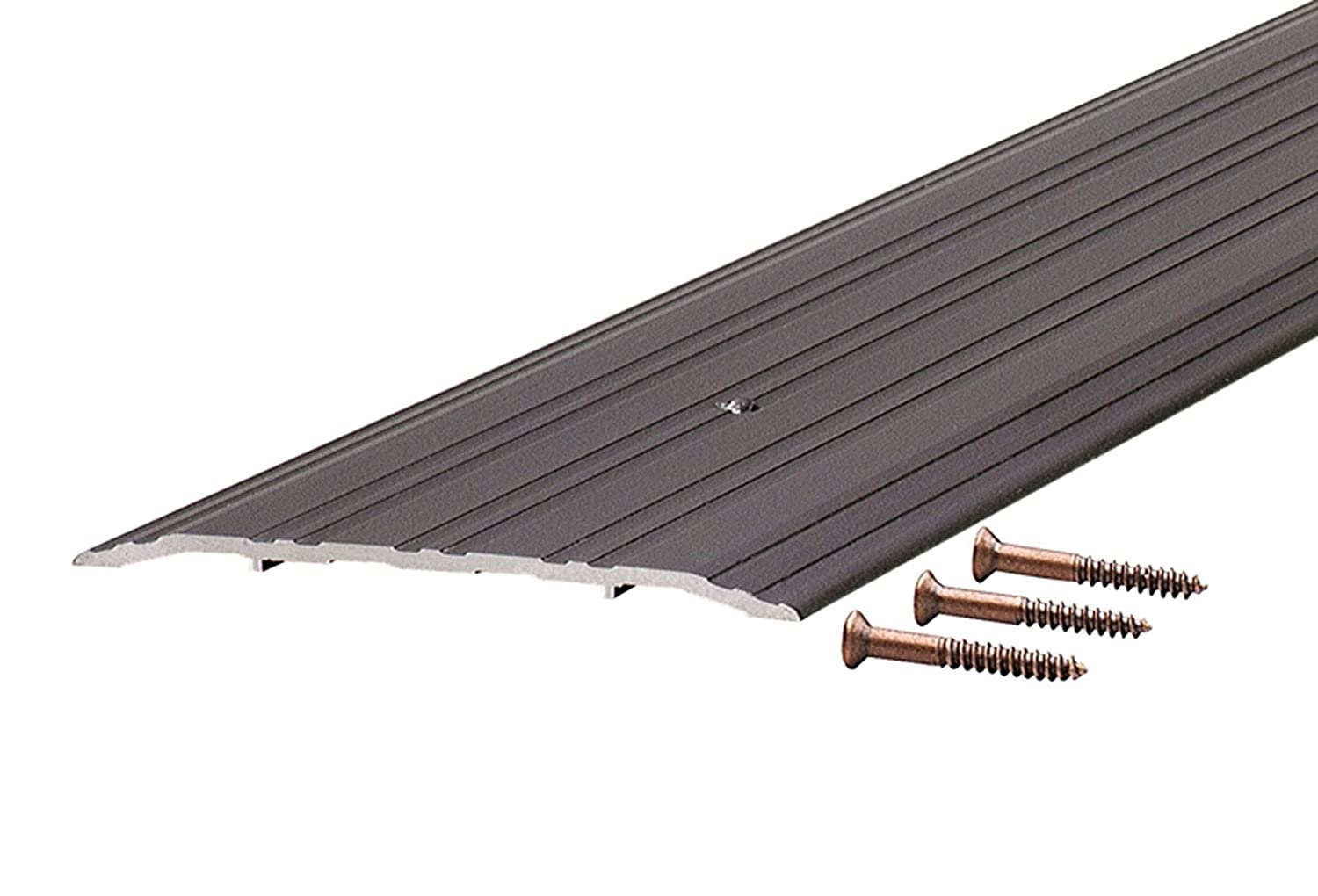72-Inch TH042 Fluted Saddle Bronze M-D Building Products 69811 1//4-Inch by 5-Inch