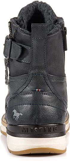 Mustang Shoes Boots en Grande Taille Gris 4141-601-259 grandes Chaussures Hommes