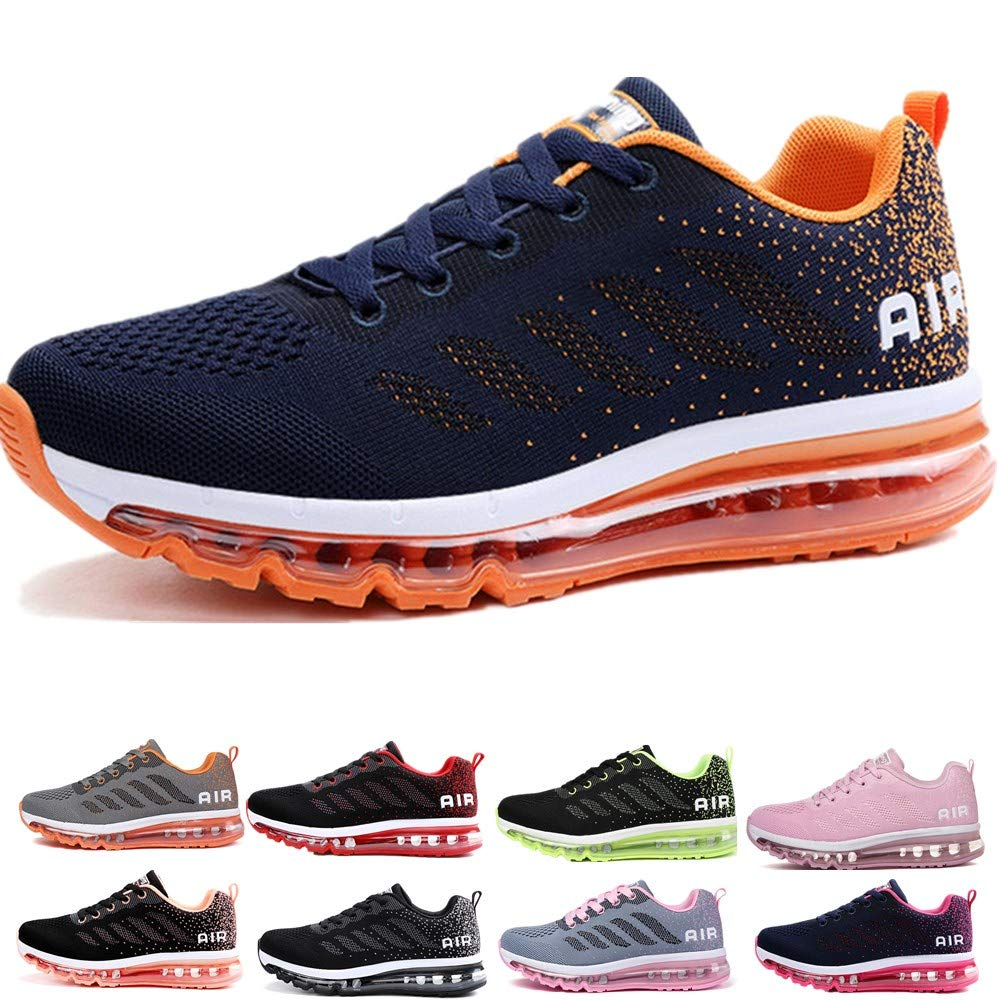 Homme Femme Air Baskets Chaussures Gym Fitness Sport Sneakers Style Running Multicolore...