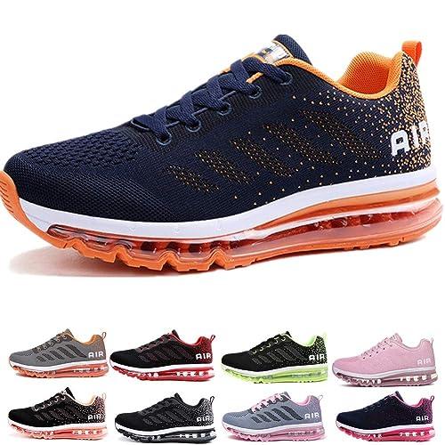 Air Zapatillas de Running para Hombre Mujer Zapatos para Correr y Asfalto  Aire Libre y Deportes Calzado  Amazon.es  Zapatos y complementos 8c4374969b4d1
