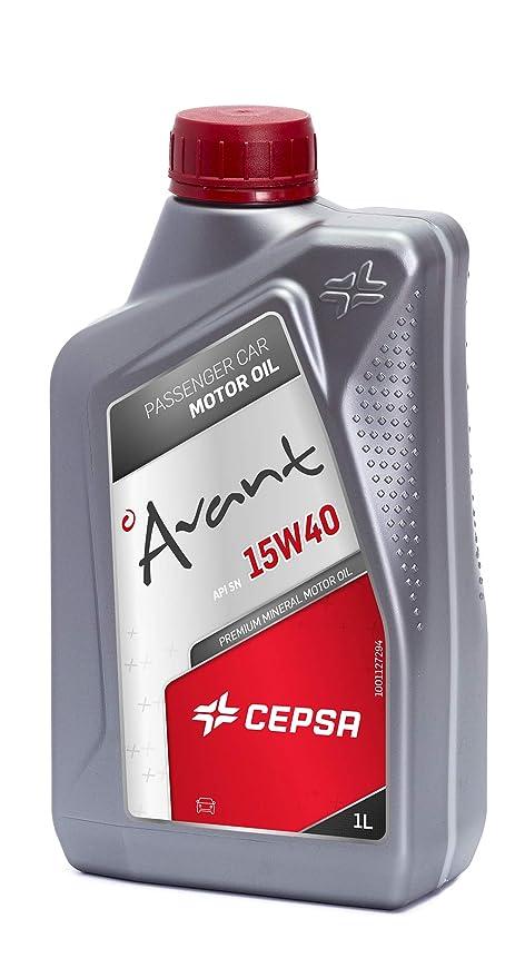 CEPSA 512604188 - Avant 15 W40 aceite mineral para motores de ...