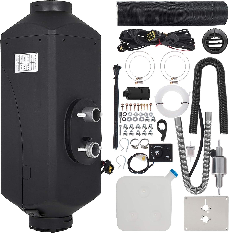 Anhon Calentador Diesel Calentador Eléctrico Ventilador Herramientas para Auto Fácil de Instalar … (5KW)