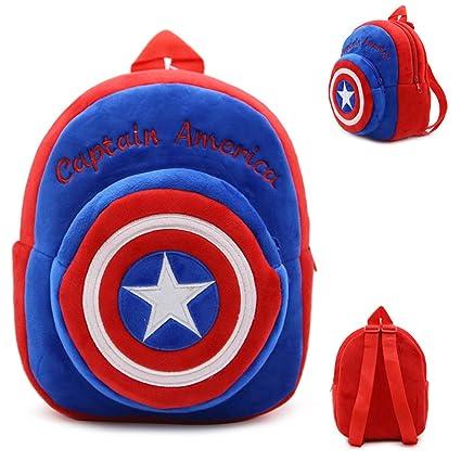 Jewh Kids Cartoon Plush Bags Child Backpack Schoolbag Little Baby Mini Cute Bags 23cm (14