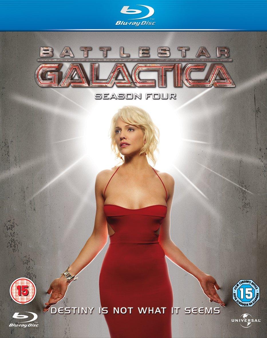 Battlestar Galactica: Season 4.0 [Region-Free][Blu-ray]