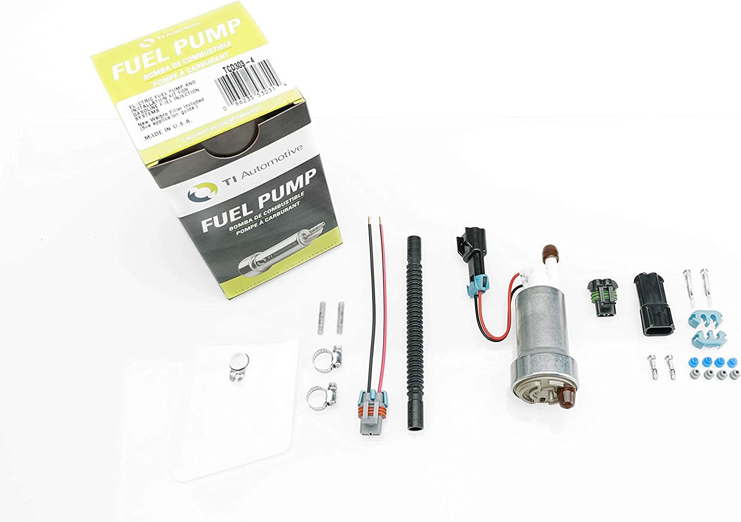 Walbro High Performance Racing 450LPH Fuel Pump w//Install Kit E85 F90000267