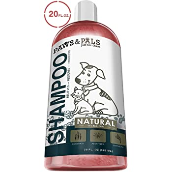 Paws & Pals 5-In-1 Oatmeal Dog Shampoo, Conditions, Detangles, Moisturizes, Anti Itch, Odor Control