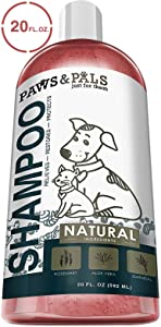Paws & Pals Natural Oatmeal Dog Shampoo and Conditioner