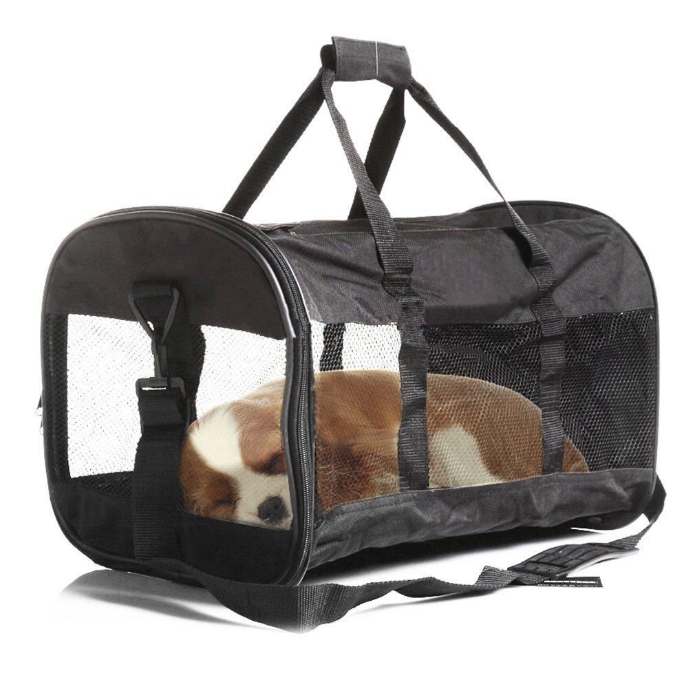 Pet Backpack Foldable Pet Carrier Shoulder Bag Portable Breathable Bag Cat Dog Out Handbag
