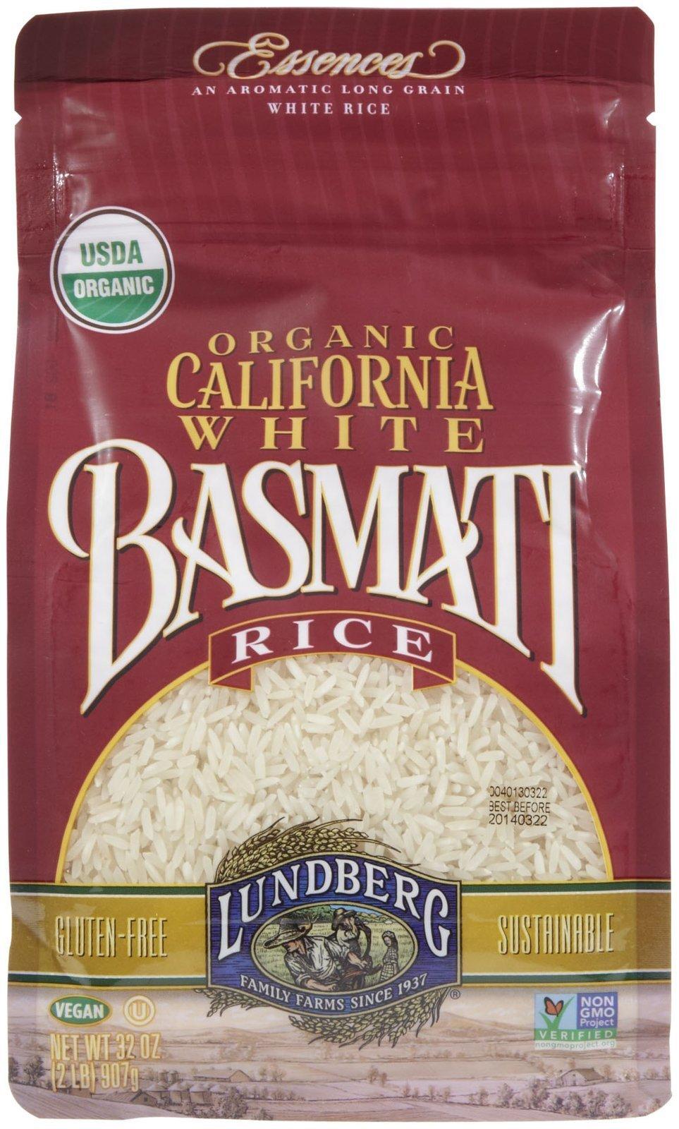 Lundberg Organic Rice - White Basmati - 32 oz