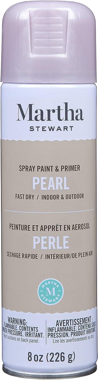 Martha Stewart Rose Chrome Paint & Primer 8oz Spray Paint