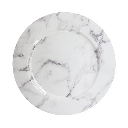 ChargeIt by Jay 1270526 - Cargador de mármol, melamina, color blanco