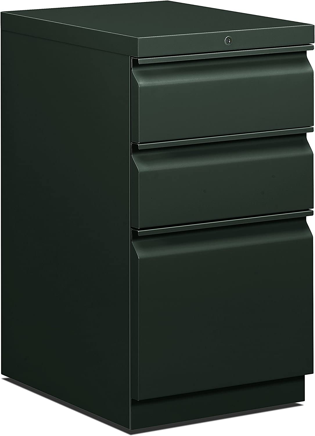 HON 332RS 332-332/332-Inch Efficiencies Mobile Pedestal File with 332 File and 32  Box Drawers, Charcoal