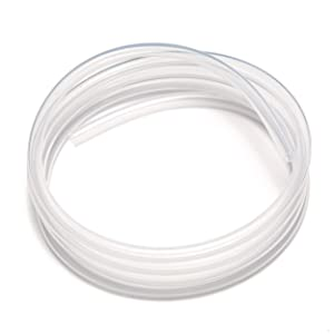 "Multipurpose Flexible High Temp Clear Food Grade 3/8"" ID x 1/2"" OD 10 FT Silicone Tubing Hose Use for Aquarium Tube Pool Cleaning Agricultural Beer Brewing Wine Making"