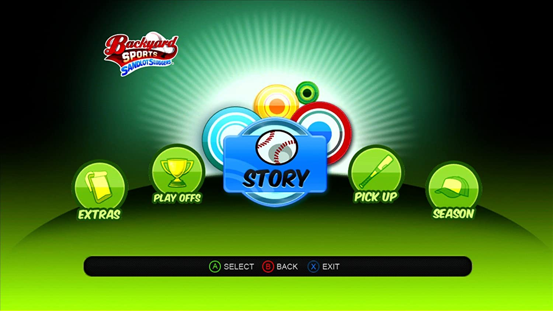 buy backyard sports sandlot sluggers xbox 360 online at low