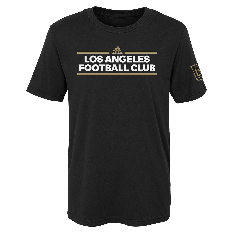 MLS ティーン-ボーイズダスラー ローカル半袖Tシャツ Small/Size 8 ブラック B076WWPG3L
