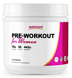 Nutricost Pre-Workout Powder for Women
