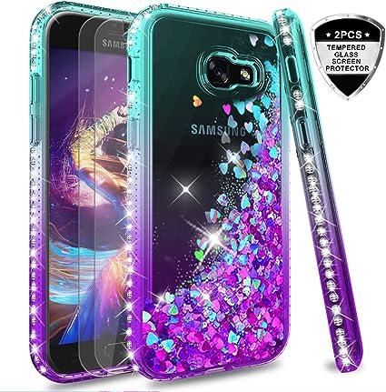 LeYi Compatible with Funda Samsung Galaxy A5 2017 Silicona ...