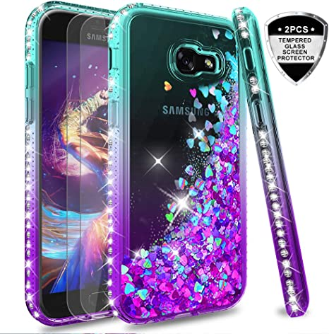 LeYi Compatible with Funda Samsung Galaxy A5 2017 Silicona ...