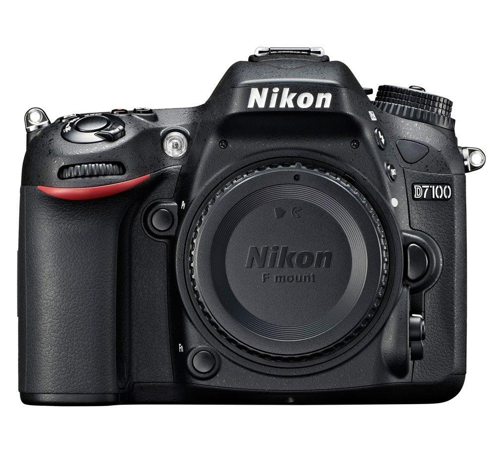 Nikon D7100 24.1 MP DX-Format CMOS Digital SLR (Body Only) by Nikon