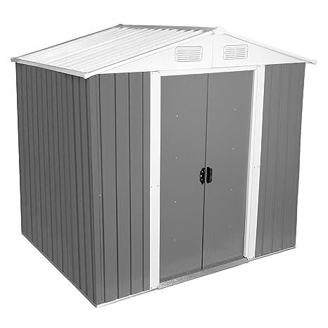 Zelsius – Dispositivo hogar, caseta con gablete techo, 204 x 130 cm, color