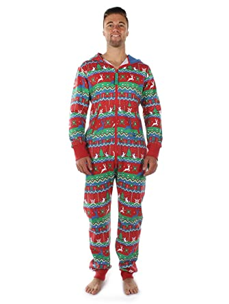 Red, White, Green, and Blue Christmas Printed Jumpsuit